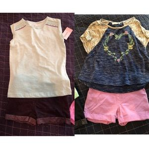 Girl's size 6/7 outfits
